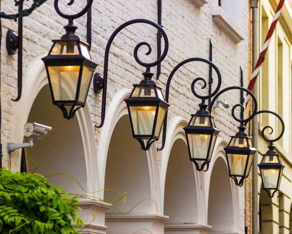 lampe extérieur design